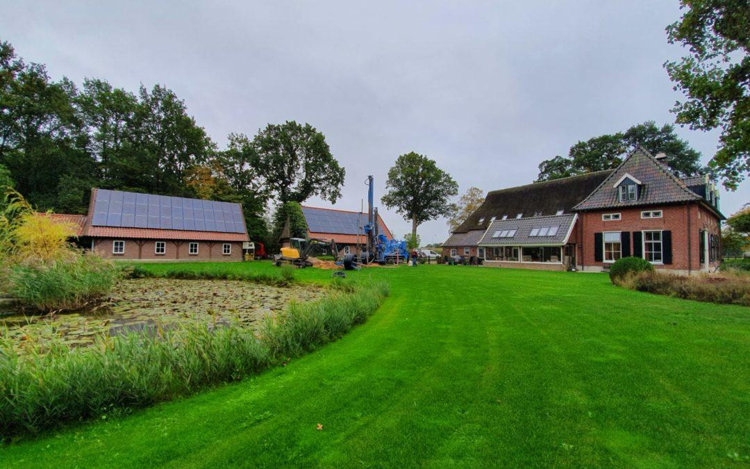 Zelf bepalen of bodemenergie gerealiseerd kan worden bij woning of groot gebouw.